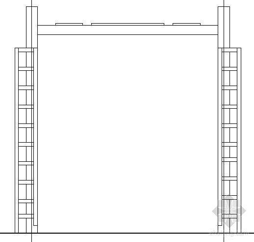 平顶玻璃亭施工图