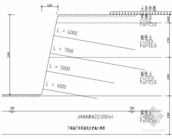 [河南]车库基坑支护施工方案
