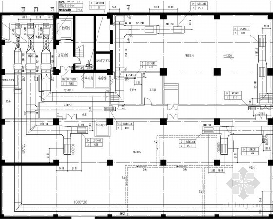 [河北]高层医院病房大楼暖通空调全套系统设计施工图(水源热泵)