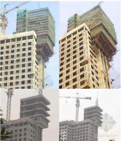 大悬挑结构施工支撑技术