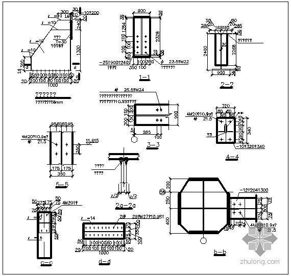 某30m吊车梁节点构造详图二(2)