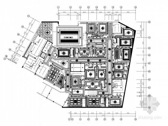 [海南]国际会议中心二次深化电气施工图纸(含酒店装修 机房工程)