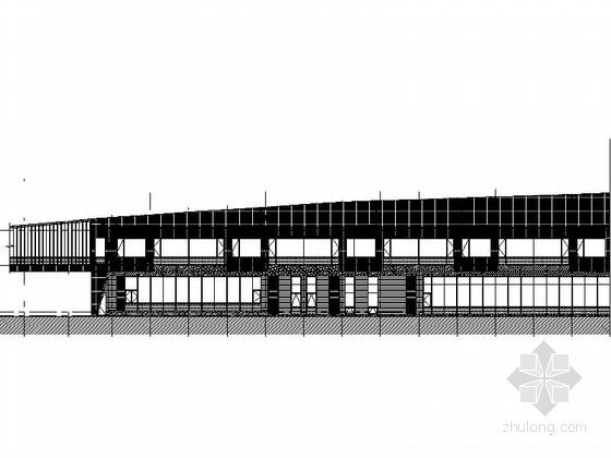 [上海]多层现代风格商务酒店建筑设计施工图(知名设计院)