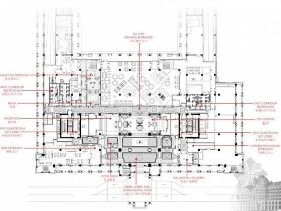 [美国]高级品牌国际连锁酒店室内设计方案