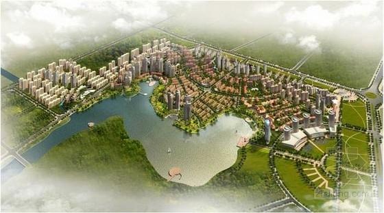 [湖北]大型多功能居住社区规划设计方案文本(国外知名设计事务所)