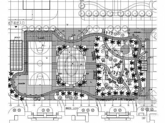 [洛阳]城市新型生态广场景观设计施工图
