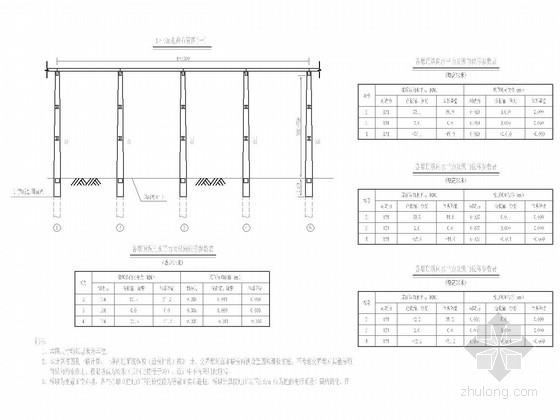 [四川]简支T梁钢筋混凝土变截面高墩通用图90张(墩高20米~75米)