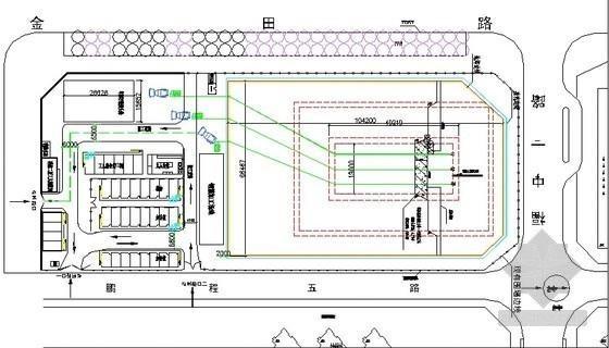 [深圳]筏板基础大体积混凝土施工方案(68页,附修改批注)
