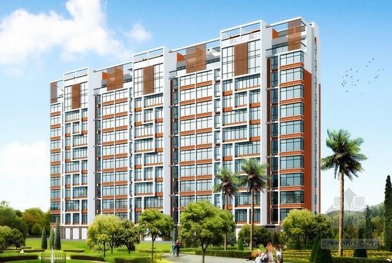 [山东]公寓楼建设项目投标书(商务标 技术标)