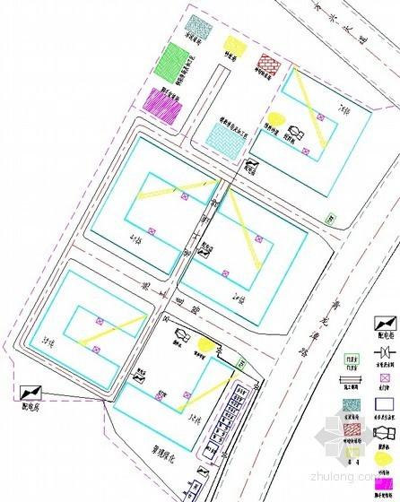 [安徽]住宅小区工程施工组织设计(框架结构 2011年)