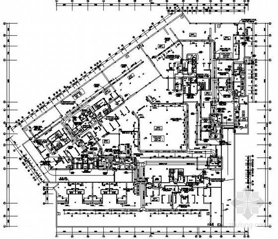 [江苏]小区地下室通风排烟设计施工图
