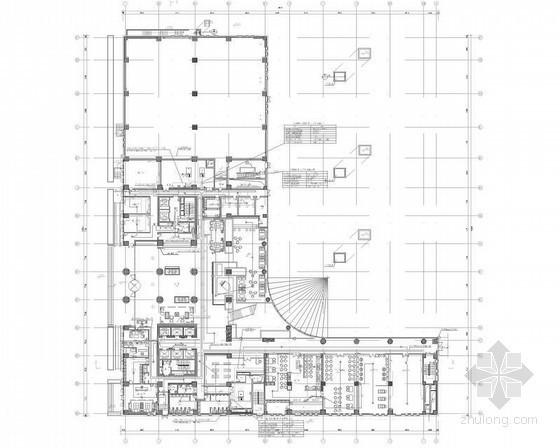 [四川]高层酒店弱电智能化工程施工图(系统全面)
