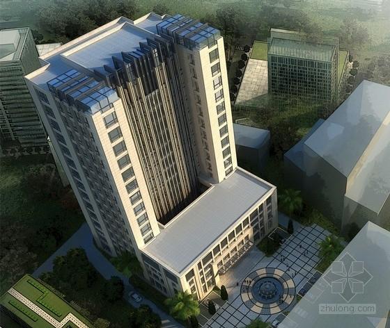 [福建]高层现代风格市级行政办公建筑设计方案文本