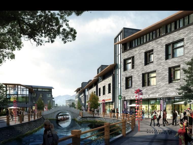 小桥流水人家中式园林3DMAX模型设计