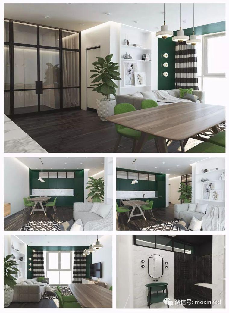 色彩灵动的北欧简约公寓,无可挑剔的美_16