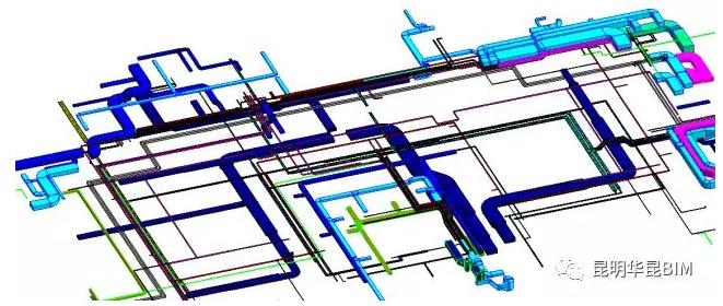 BIM技术机电管线深化设计应用过程分析