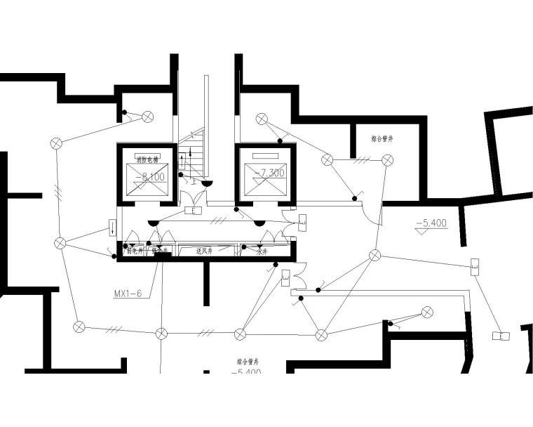 汽配城2#3#楼全套电施_2