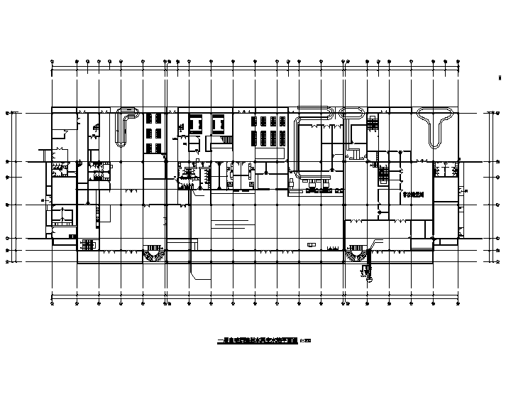 江西航站楼给排水全套图纸(电气、通风)