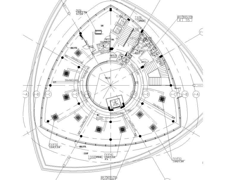 U型景观泳池结构施工图资料下载-上海最顶级设计院商业综合体建筑暖通施工图