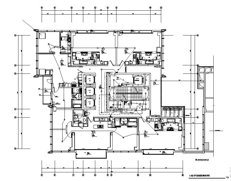知名地产大厦弱电消防施工图