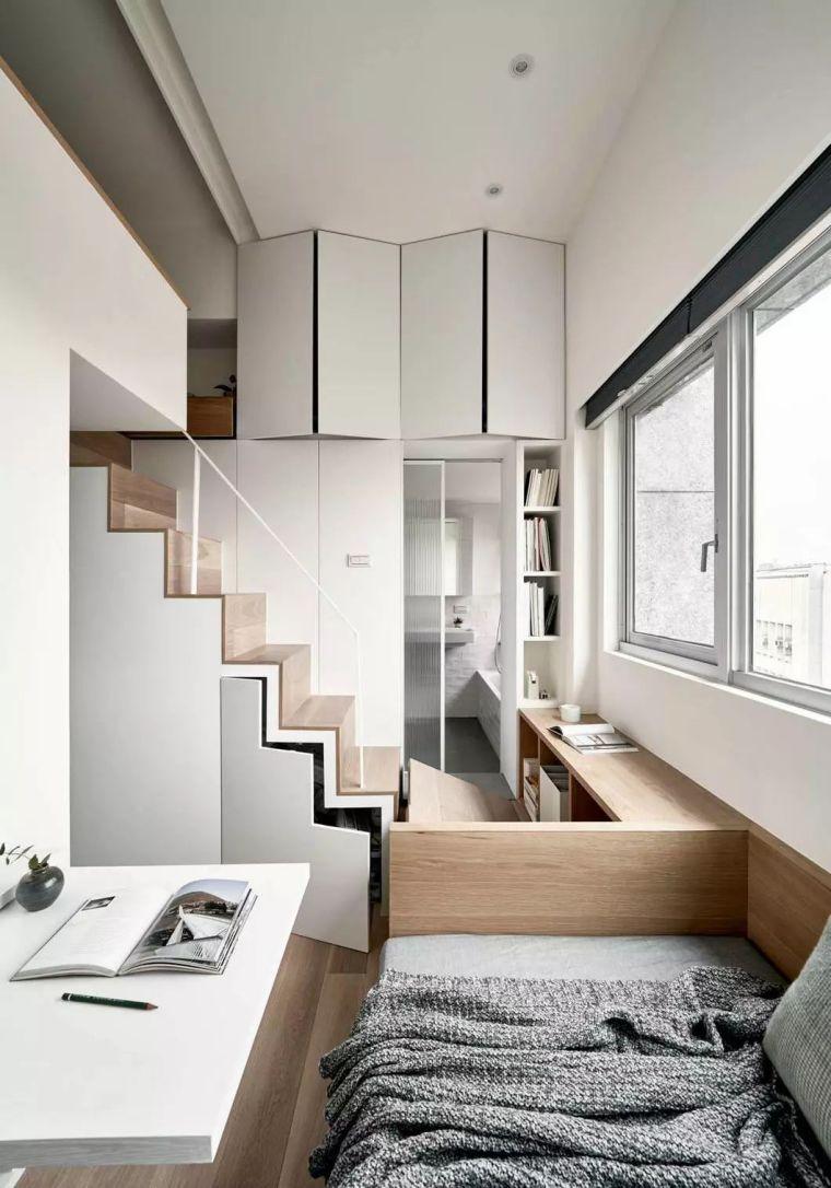 一个人的豪宅——17.6㎡极小公寓_3