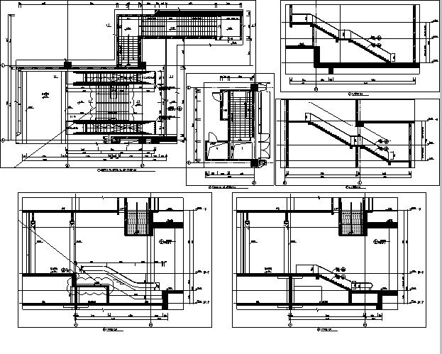 [浙江]地下一层停车场建筑施工图(出图图纸)_4