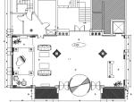 欧式风格夜总会装修设计施工图(附效果图)
