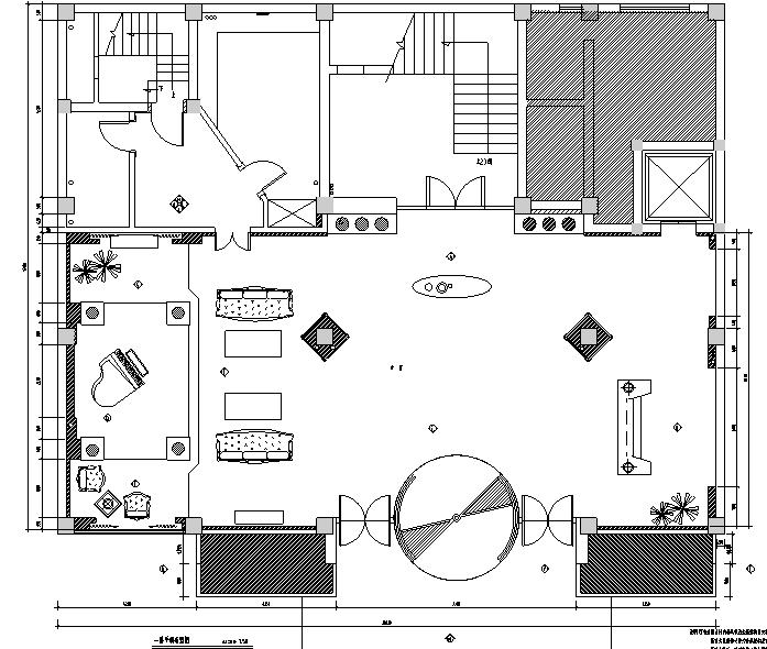 歐式風格夜總會裝修設計施工圖(附效果圖)