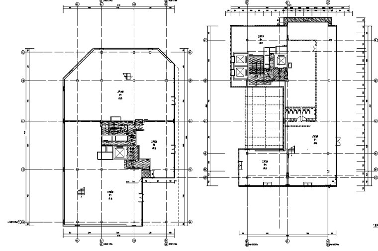 [成都]远洋太古里大型商业综合体建筑CAD施工图/方案/实景合集