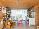 见过用刨花板做成的家具,你见过整间都是刨花板的房子吗