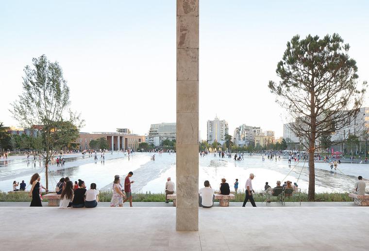 阿尔巴尼亚Skanderbeg广场改造-7