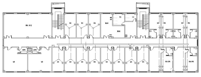 吉林综合办公楼电气设计图纸
