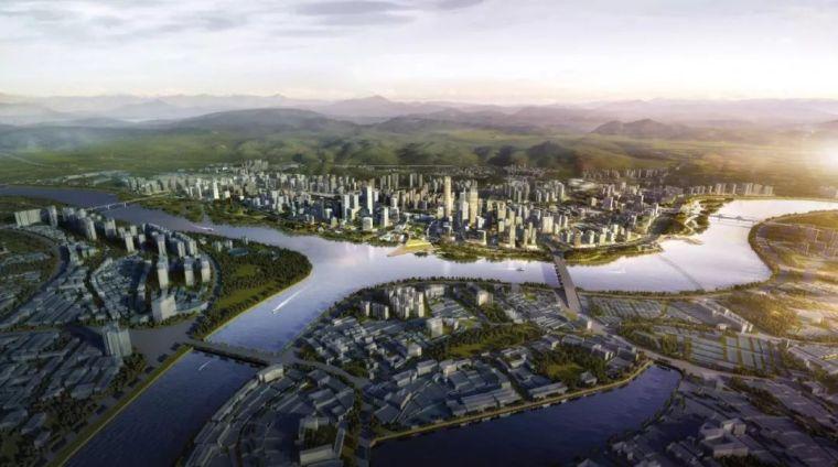 河源江东新区起步区城市设计及绿色生态示范区规划