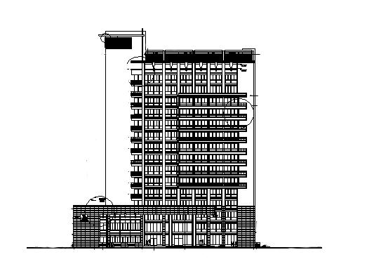 某办公楼建筑施工图