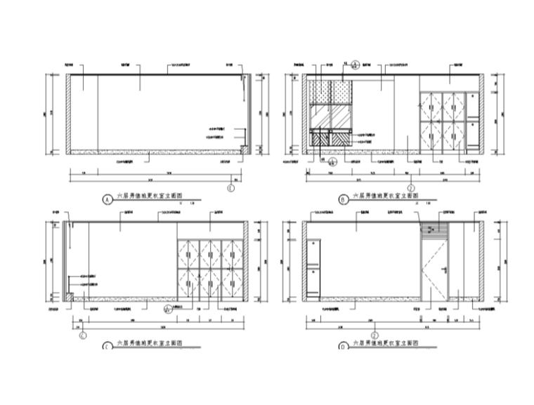 某医院室内装修设计详细施工图纸(68张)