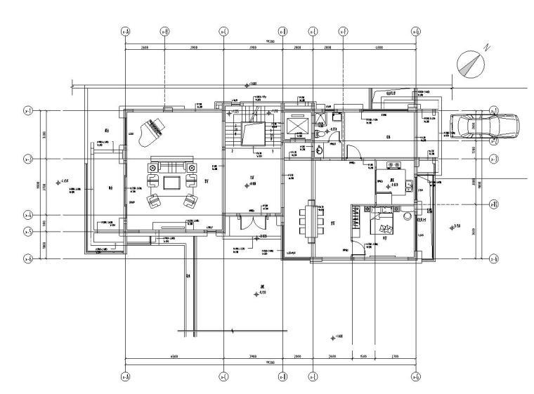 矩阵纵横-广州星河别墅住宅设计施工图(附效果图)
