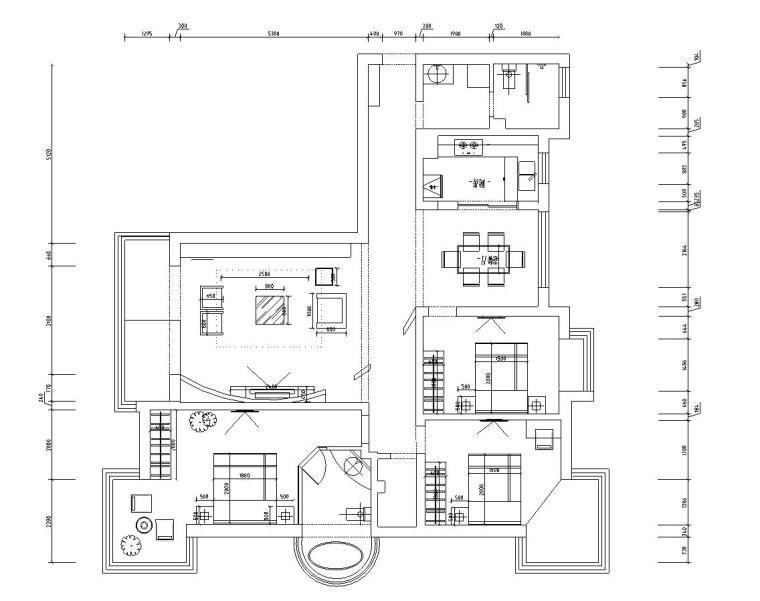格式视频:平层风格教程:施工图设计结构:现代图纸图纸风格:jpg,cad机械制造与设计类型深度基础图片