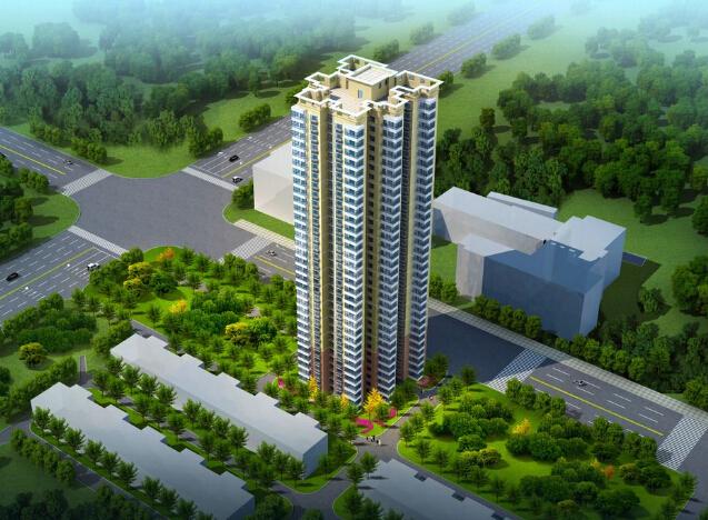 方案高层工程项目策划班会(ppt,79页)六一设计住宅图片