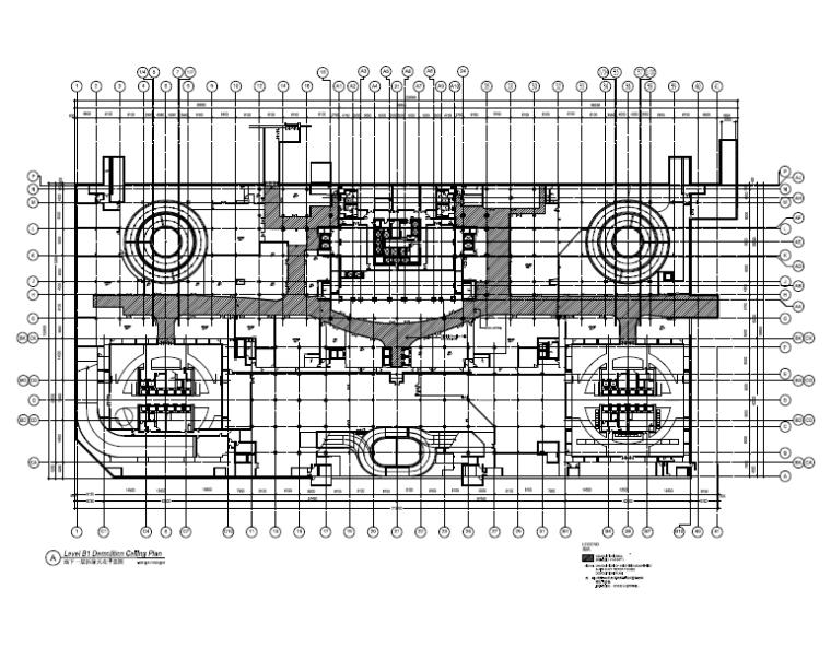 [北京]银泰中心商业公共区域设计施工图(附效果图+物料表+结构图纸+消防图纸)