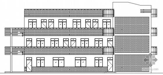 某三层学校教学楼建筑施工图