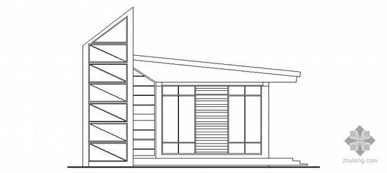 某小区大门门卫建筑方案