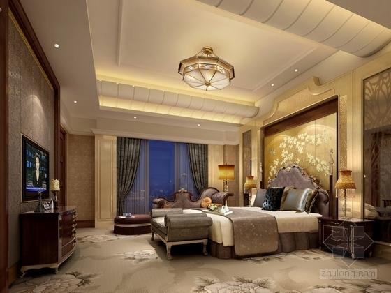 [贵州]新中式超五星级高端酒店效果图