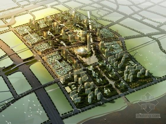 [广东]现代风格混合商业区规划及单体设计方案文本(国外知名建筑设计事务所)