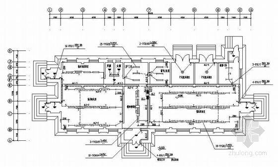 国外某6kV变电所系统成套施工图