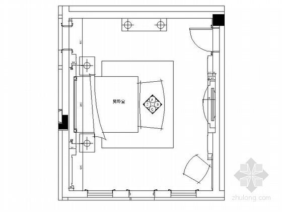 超级豪华别墅卧室室内设计装修图(含效果)