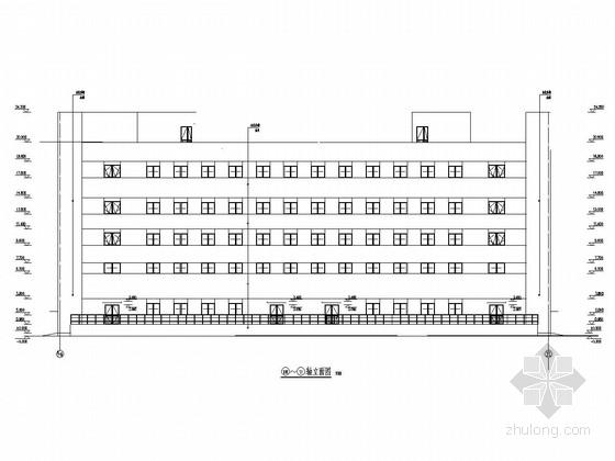 [山东]五层框架结构医药公司公用工程楼建筑结构施工图