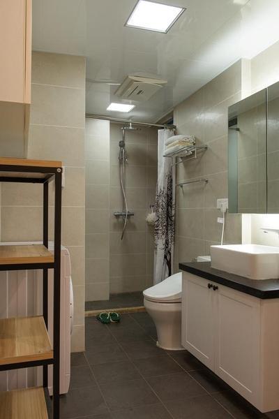 54平米小户型两室一厅现代简约风格老房翻新装修_11