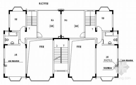 重庆某别墅区智能化系统全套电气图纸
