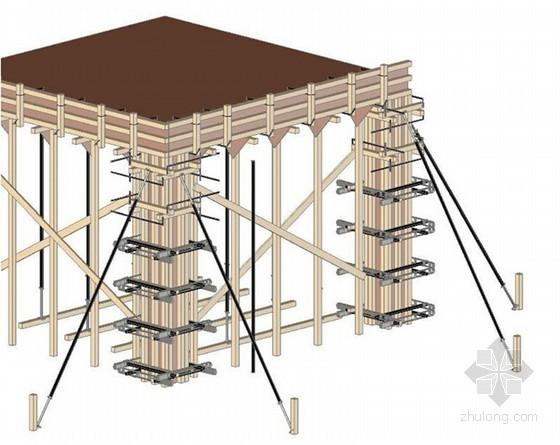 轻型、快速、大批量房屋模板支护工法