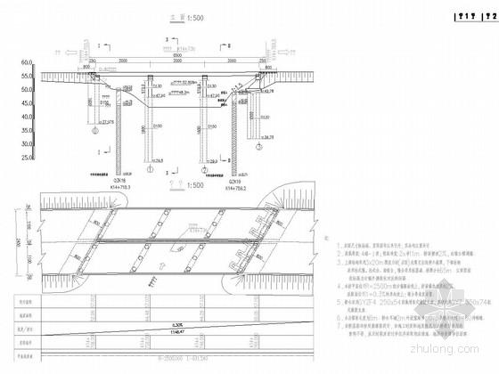 [湖北]3x20m后张预应力先简支后连续小箱梁桥施工图全套103张(含公用构造)
